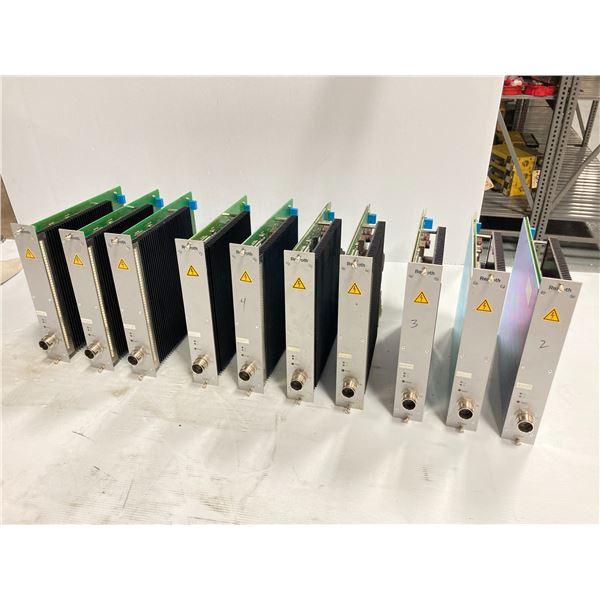 (10) Rexroth Servo Amplifier Modules, Type: 0 608 750 085