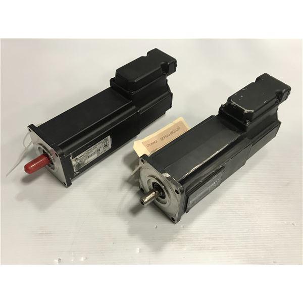 (2) Rexroth / Indramat MKD041B-144-GP0-KN motor