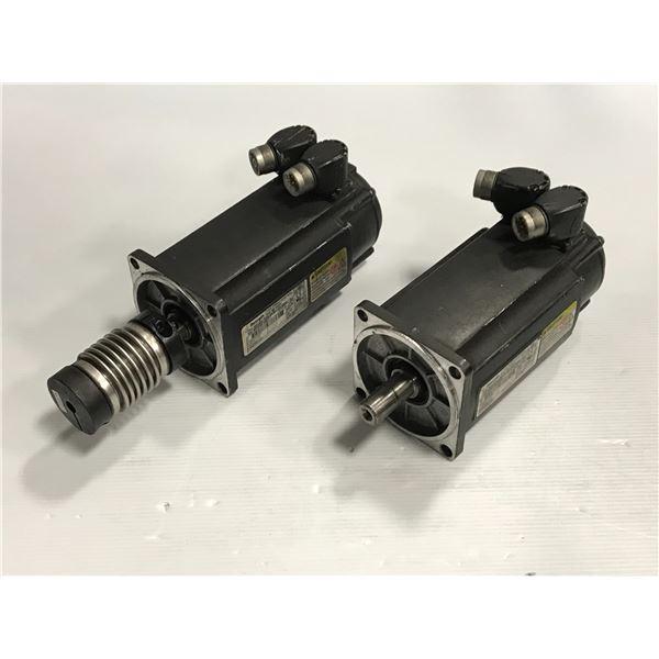(2) Rexroth MSK050C-0300-NN-M1-UP0-NNNN motor