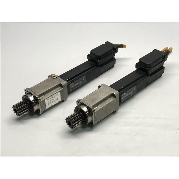 (2) Rexroth Indramat #MKD025B-144-KP1-KN Motor
