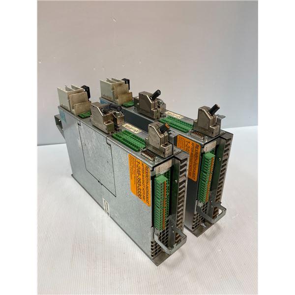 (2) Rexroth Indramat  DKC01.3-040-7-FW Drives