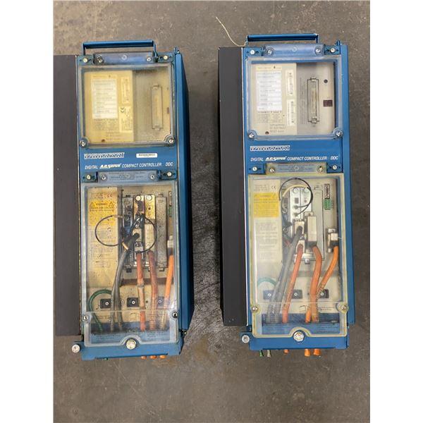 (2) Indramat Digital AC Servo Compact Controller