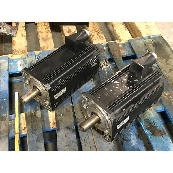 (2) Rexroth #MSK101D-0300-NN-M1-BG0-NNNN Motor