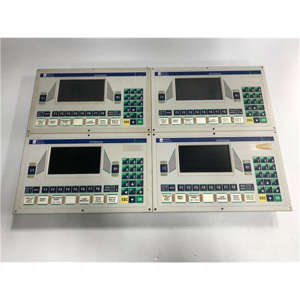 (4) Rexroth Indramat #BTV06.1HN-RS-FW Operator Panel