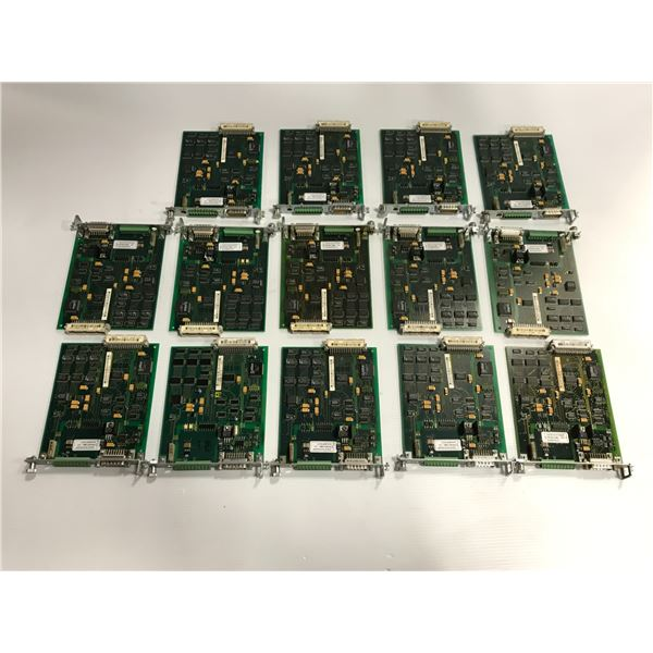 Lot of (14) Rexroth Indramat #109-0785-4B20-06 Circuit Boards