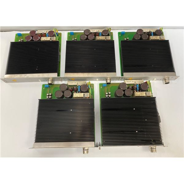 (5) Rexroth # 0 608 750 085 Servo Amplifier Control Modules