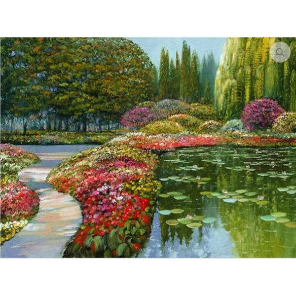 """Howard Behrens COLORS OF GIVERNY, THE (from THE """"TRIBUTE TO MONET"""" COLLECTION)"""