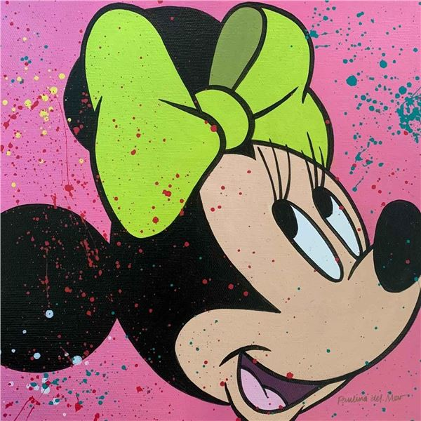 """Paulina Del Mar """"Minnie Mouse in Pink"""""""