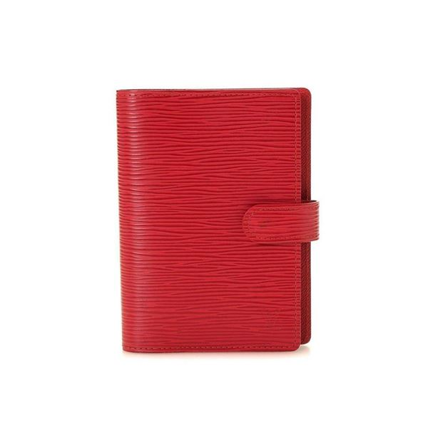 Louis Vuitton Red Monogram Agenda PM Wallet