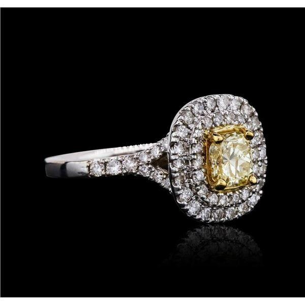 14KT White Gold 1.63 ctw Diamond Unity Ring