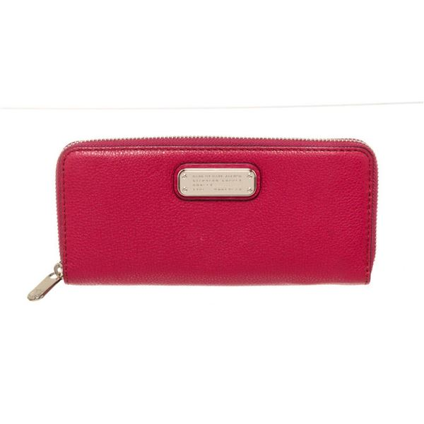 Marc By Marc Jacobs Red Leather Wallet