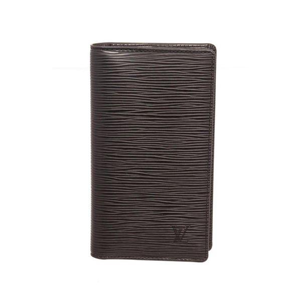 Louis Vuitton Black Epi Leather Pocket Agenda Cover