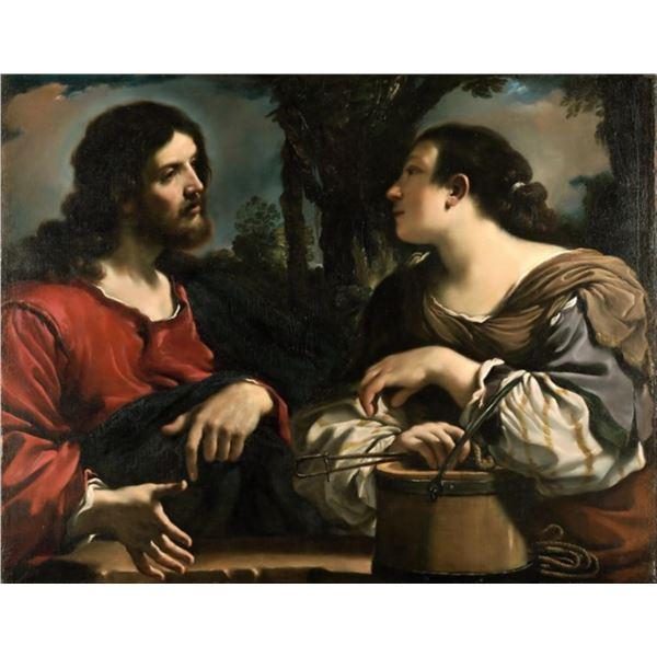 Guercino - Christ and the Samaritan Woman