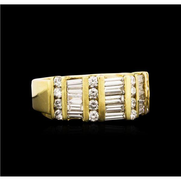 18KT Yellow Gold 1.39 ctw Diamond Ring