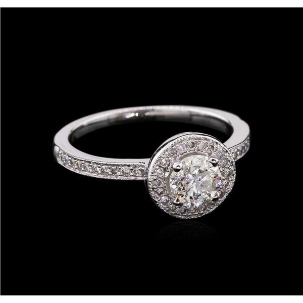 0.72 ctw Diamond Ring - 14KT White Gold