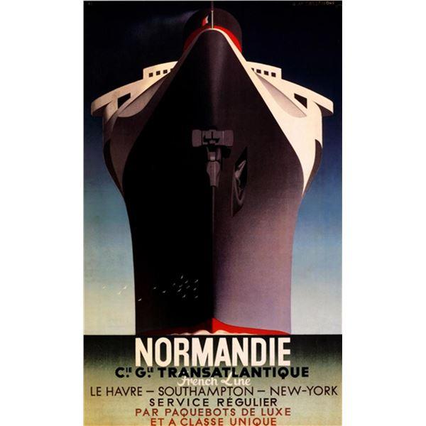 Adolphe Cassandre - Normandie