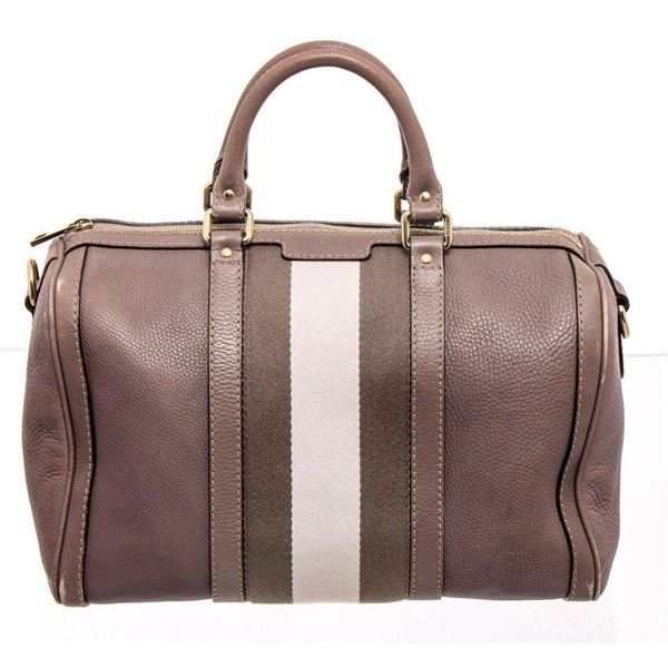 Gucci Mauve Leather Medium Joy Boston Bag