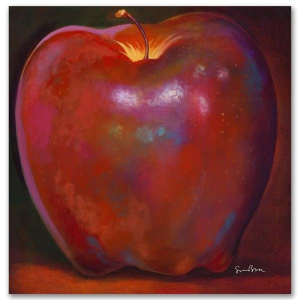 """Simon Bull """"Apple Wood Reflections"""" Limited Edition Giclee on Canvas"""