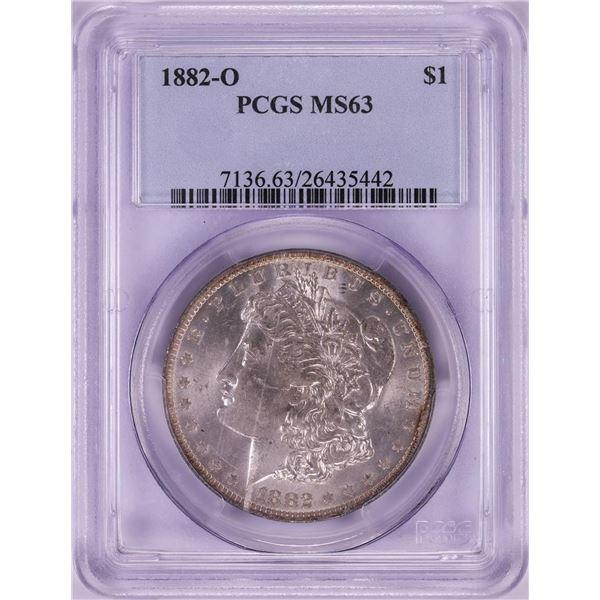 1882-O $1 Morgan Silver Dollar Coin PCGS MS63