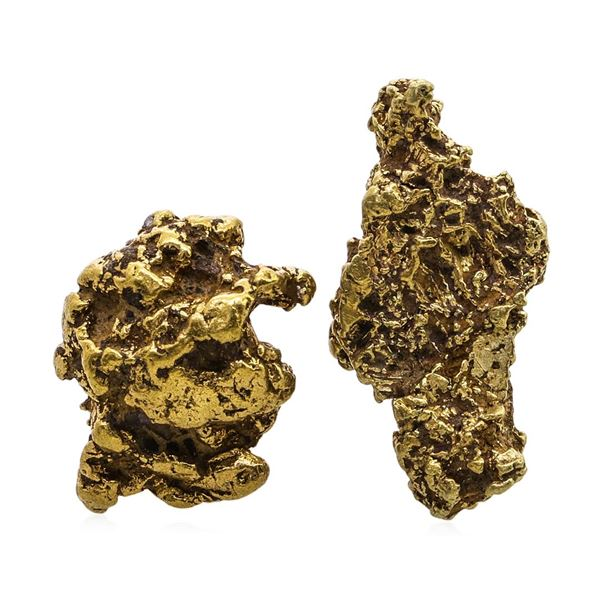 Lot of Gold Nuggets 3.44 Grams Total Weight