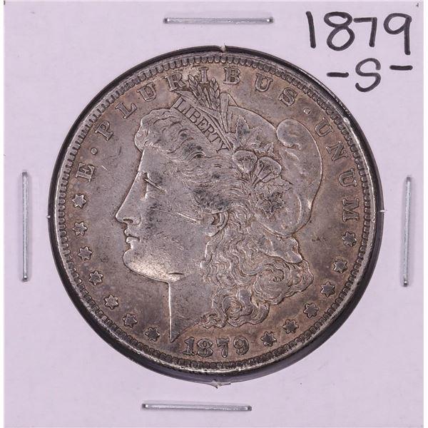 1879-S Reverse 78' $1 Morgan Silver Dollar Coin