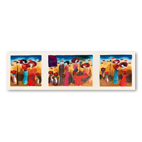 Moshe Leider Limited Edition Serigraph on Paper