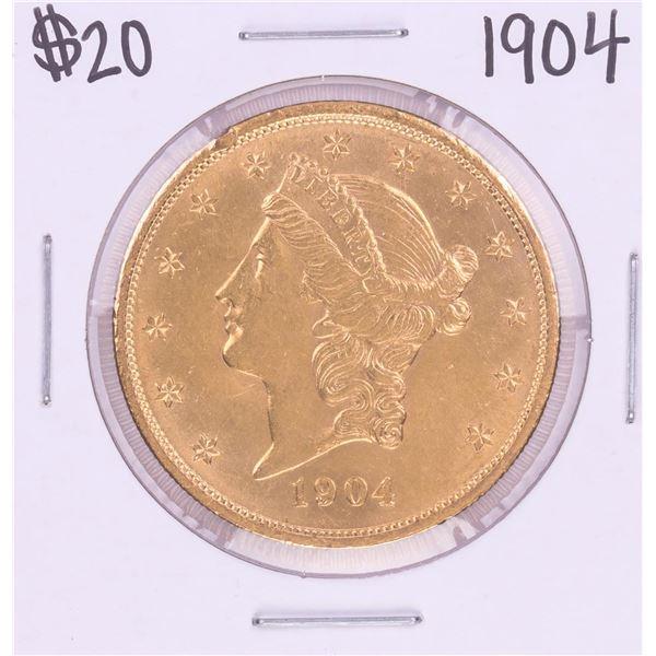 1904 $20 Liberty Head Double Eagle Coin