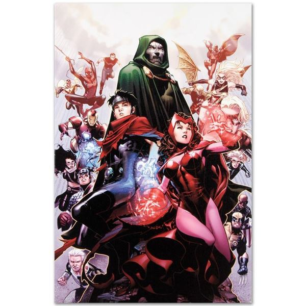 """Marvel Comics """"Avengers: The Children's Crusade #4"""" Limited Edition Giclee on Canvas"""