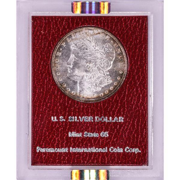 Paramount 1887 $1 Morgan Silver Dollar Coin NGC MS64