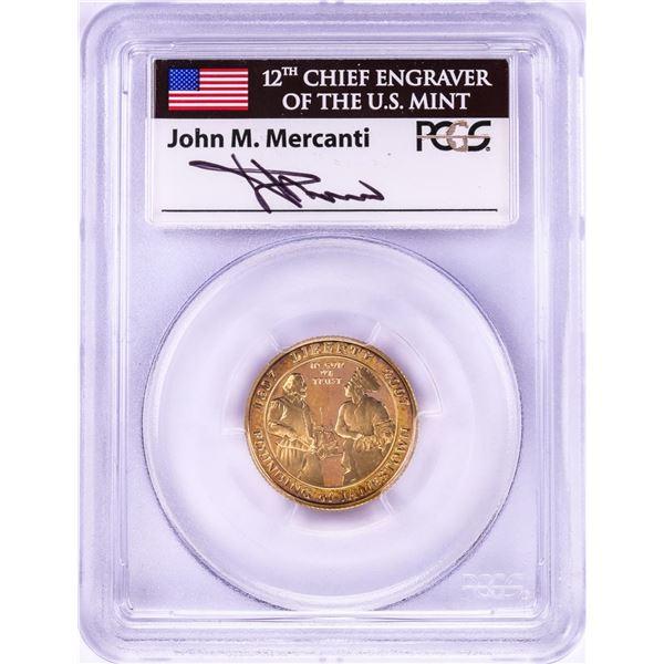 2007-W Jamestown Memorial Church $5 Gold Coin PCGS PR69DCAM Mercanti Signature