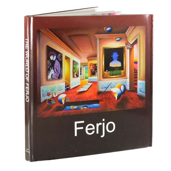 """""""The World of Ferjo"""" Fine Art Book featuring art by Ferjo"""