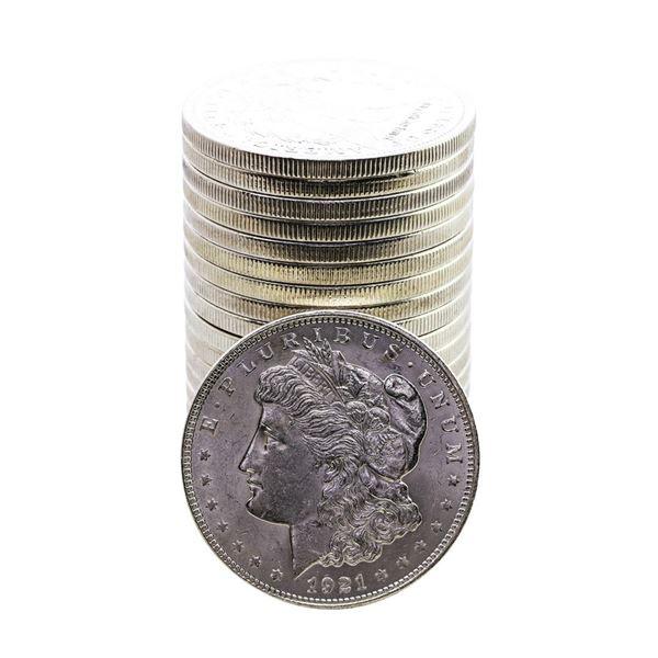 Roll of (20) 1921 $1 Morgan Silver Dollar Coins