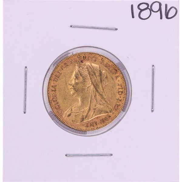 1896 Great Britain Sovereign Gold Coin