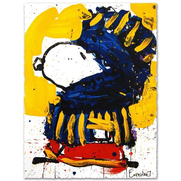 """Tom Everhart """"March Vogue"""" Limited Edition Lithograph on Paper"""