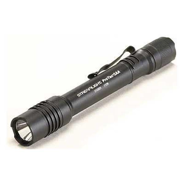 STRMLGHT PROTAC 2AA LED BLK W/HLSTR
