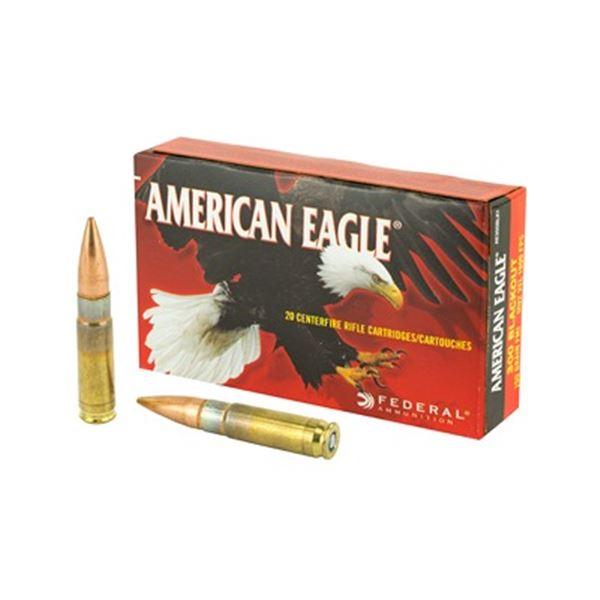 FED AM EAGLE 300BLK 150GR FMJ - 20 Rds