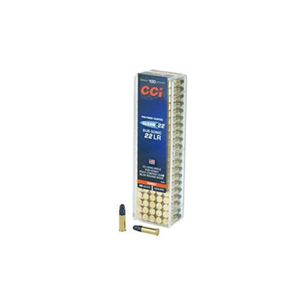 CCI 22LR SUB 40GR LRN BLUE - 100 Rds