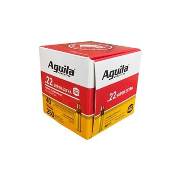 AGUILA 22LR HV SP 40 GR 250 PACK