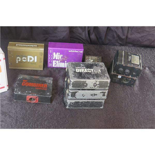 Multiple Passive DI Boxes: 3 Director, 1 DOD265, 1 Combiner, 1 Splitters & 1 PC DI