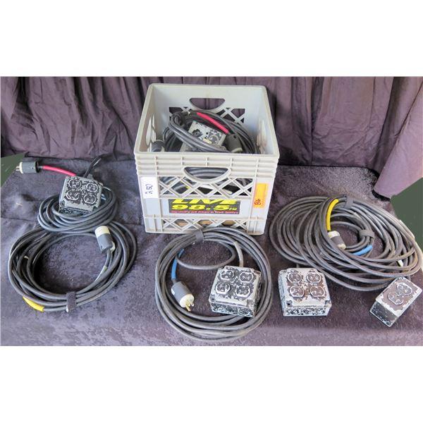 Crate of Edison Duplex & Quad AC Custom Built
