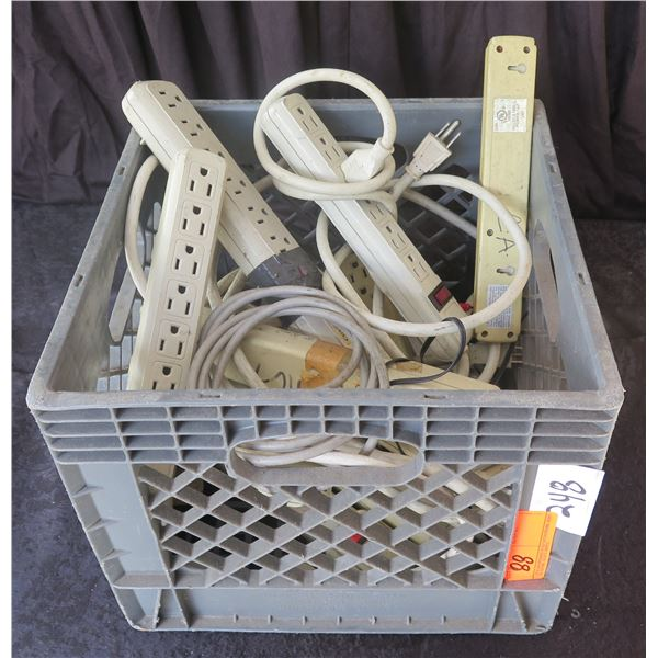 Crate of Power Strips