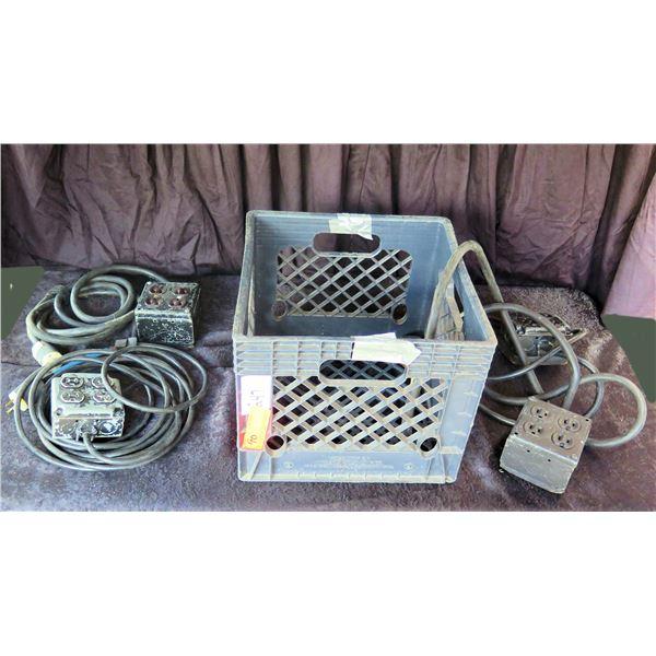 Crate of Custom AC Quad Boxes