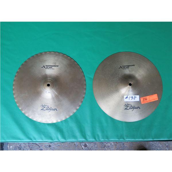 Zildjian Master Sound High Hats Cymbals