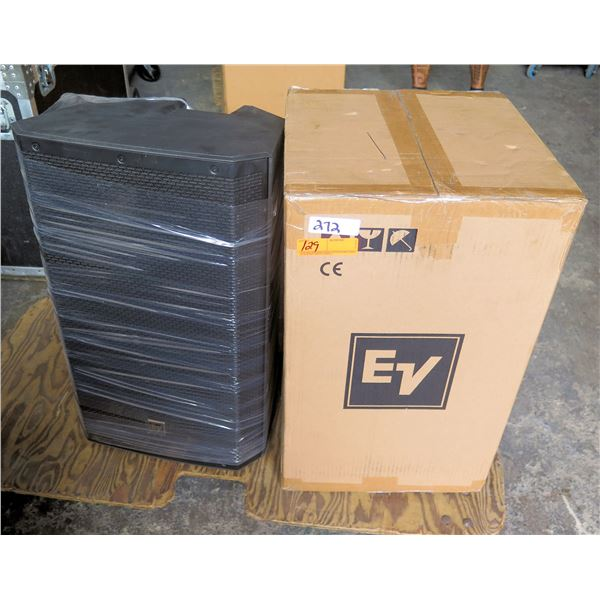 """Pair of ElectroVoice Speakers #ZLX-15, 15"""" + HF, Non-Powered, NL Inputs"""