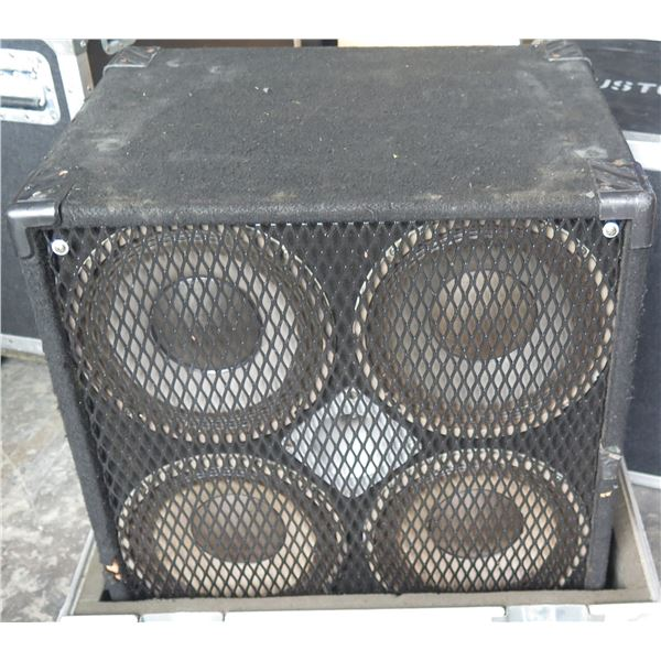 SWR Goliath 4 x 10 + HF Tweeter.  Comes in ATA Case on Casters