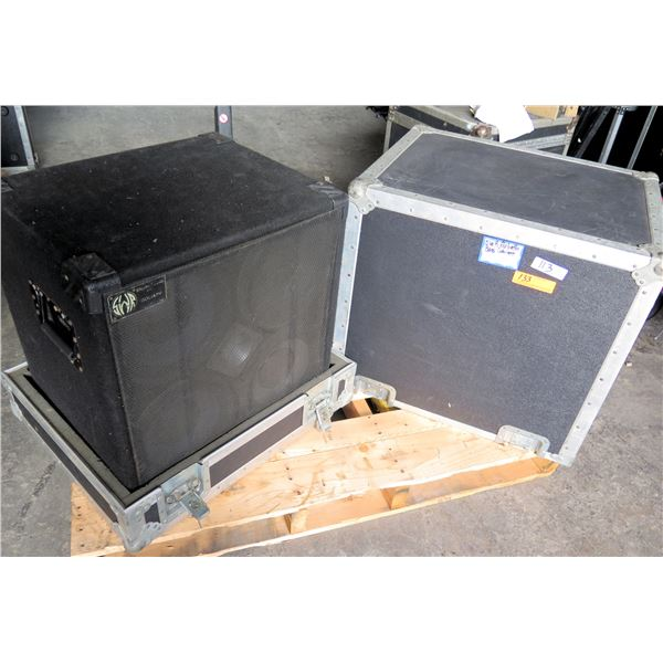 SWR Goliath 4 x 10 + HF Tweeter.  Comes in ATA Stacking Case