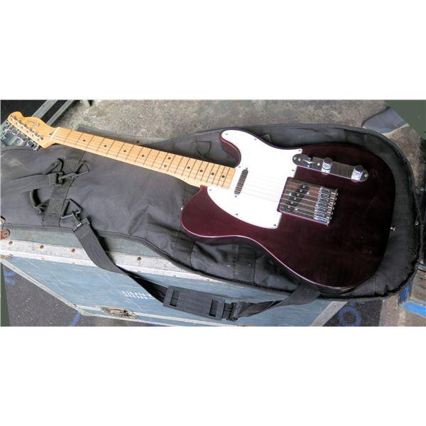 Fender Telecaster Guitar - Mexico  w/gig bag, spare strings,