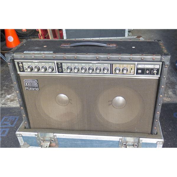 Roland JC120 Guitar Amp In ATA Case