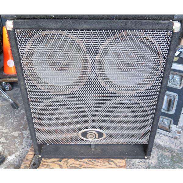 Ampeg 4x10 Bass Cabinet w/ HF  #BC 410 HLF