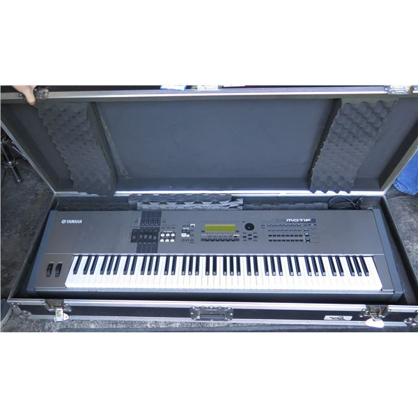 Yamaha Motif 8 - 88 keys, Weighted. Industry Standard w/ Sustain Pedal